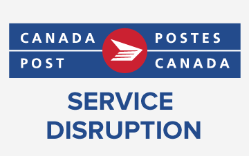 Canada Post service disruption and your Gift Fair badge