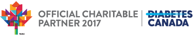 Official charitable partner 2017 | Diabetes Canada