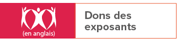Dons des exposants