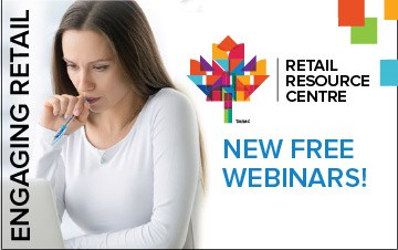 Sign-up now to attend retail focused webinars from the convenience of your store or office
