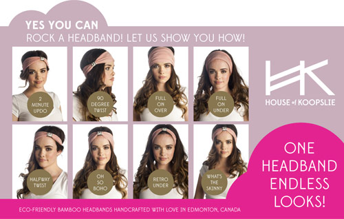 Yes you can rock a headband!