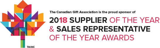 CanGift 2018 Supplier of the Year and Sales Representative of the Year Awards