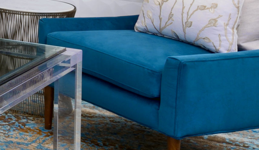 Jewel tone furniture